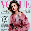 Miranda Kerr Makes Another Vogue Cover