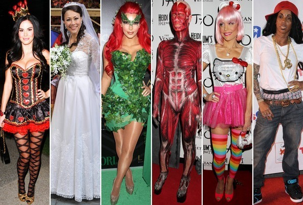 Worst Parody Halloween Costumes 2020 The Best and Worst Celebrity Halloween Costumes of 2011   StyleBistro