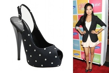 Naya Rivera Is Spot on in Giuseppe Zanotti