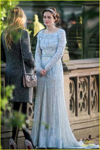 Leighton Meester's Wedding Dress on 'Gossip Girl'