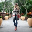 Look of the Day, January 13th: Blair Eadie's Plaid Coat