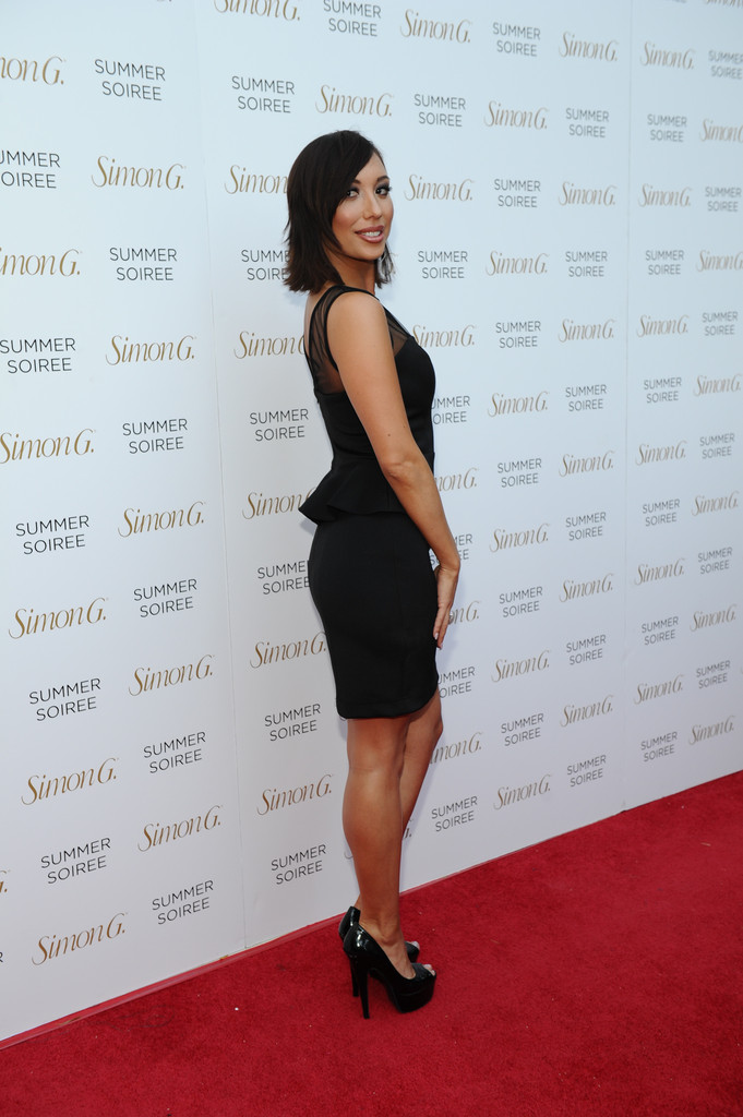 Found  Cheryl Burke s Affordable Cocktail Dress - Celebrity Style ... 7621a3057