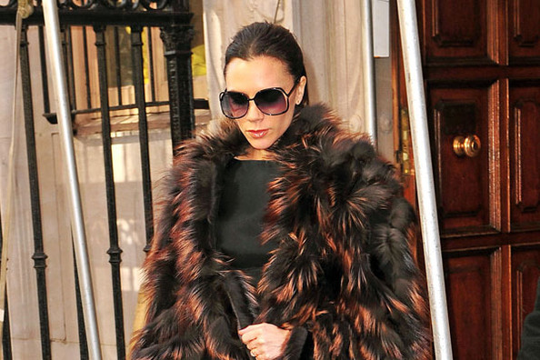 Victoria Beckham Won't Take Maternity Leave
