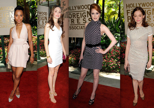 Best Dressed at Hollywood FP Association Luncheon 2009