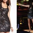 Adriana Louise's Sequined Dress on 'The Voice'