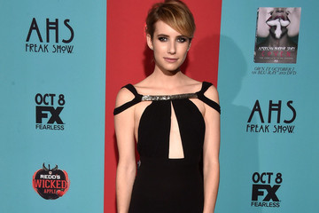 Emma Roberts' Sexy Red Carpet Dress
