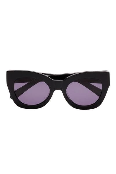 Black Cateye Sunglasses