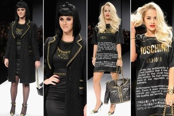 Katy Perry and Rita Ora Love Jeremy Scott's Moschino Meets McDonald's Capsule Collection