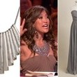 Carrie Ann Inaba's Gray Gown and Statement Necklace on 'Dancing with the Stars'