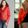 A Red Moto Jacket Like Alexia Echevarria's on 'Real Housewives of Miami'