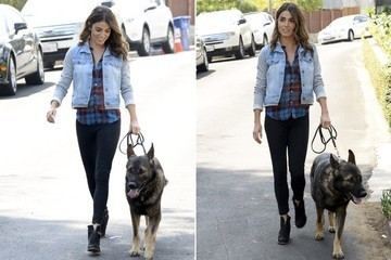 Found: Nikki Reed's Denim Hoodie Jacket