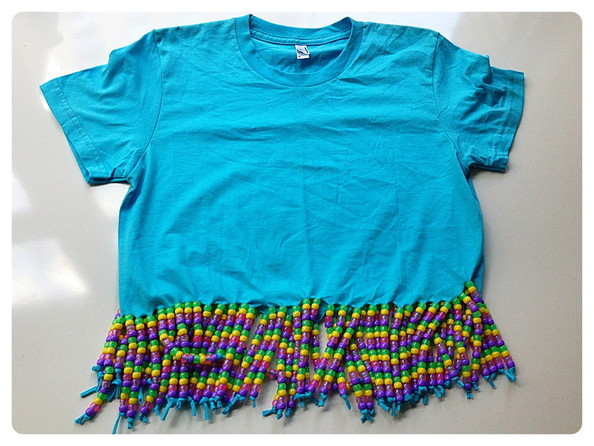 05a254b02fa1 Finito! - How to Customize a T-Shirt -  90s Summer Camp Style ...