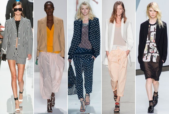 Spring 2013 Runway Trend: Slouchy Suiting