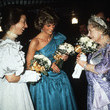 Princess Anne, Princess Diana, And The Queen Mother, 1985