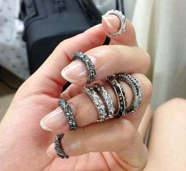 Couture Close-Up: Chanel's Fingernail Rings (Yes, Really!)