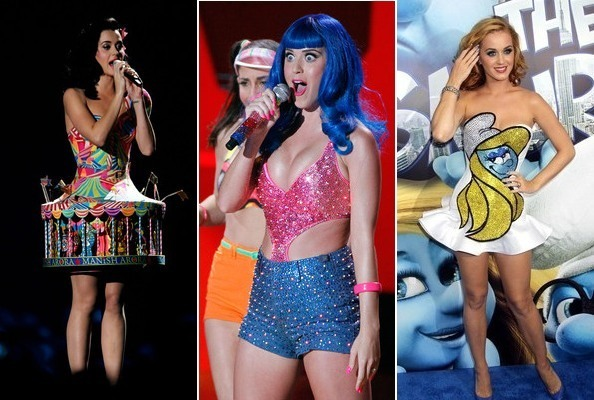 Katy Perry's Craziest Outfits