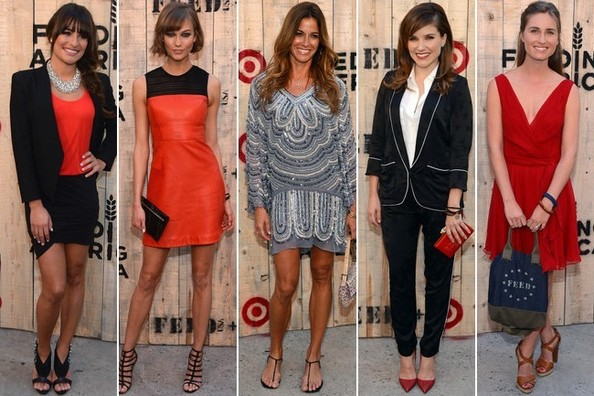 Best Dressed at the FEED USA + Target Launch