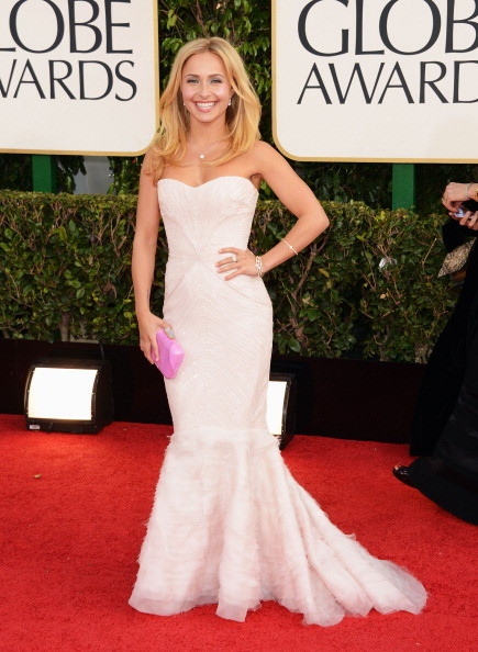 Hayden Panettiere at the 2013 Golden Globes