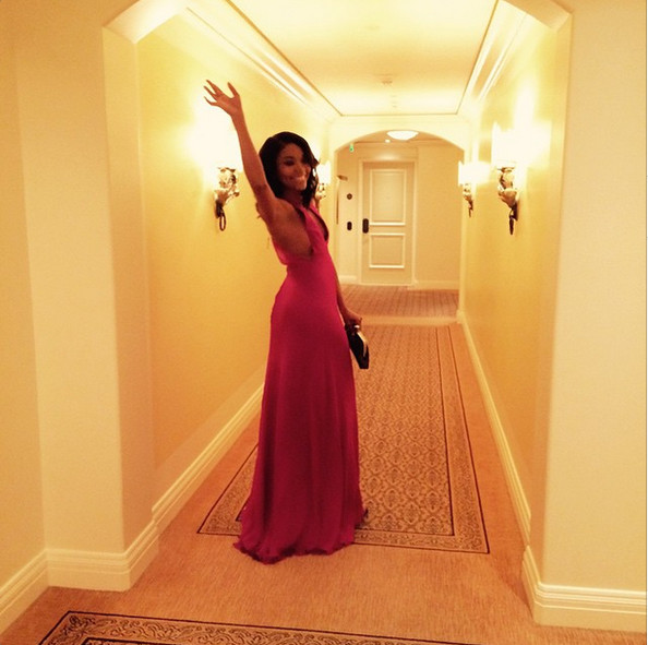 Gabrielle Union Waves Bye
