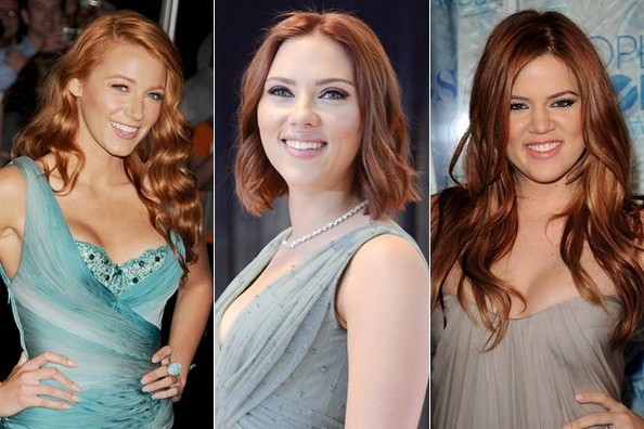 Hollywood Is Hot for Redheads