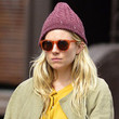 No, they look about as crazy as Sienna Miller does in that hat.
