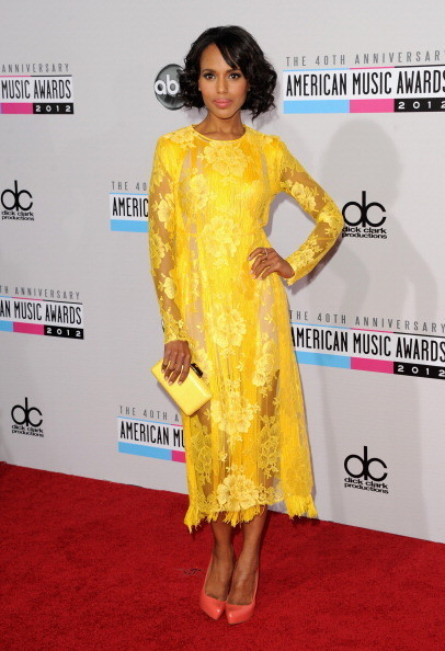 Kerry Washington at the 2012 AMAs