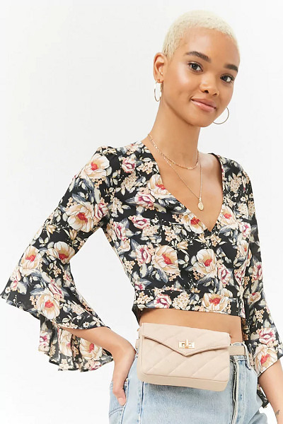 Forever 21: Quilted Fanny Pack