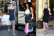 Celebrity Shopping Escapades