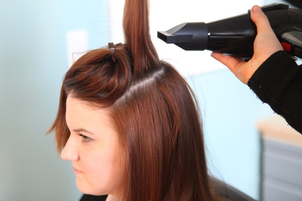 Step 4 Continued Create Volume At The Crown Diy Hairstyles