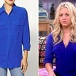 Kaley Cuoco's Blouse on 'The Big Bang Theory'