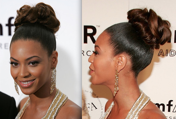 Stupendous Sophisticated Updo Beyonce Prom Hair Ideas Stylebistro Hairstyles For Women Draintrainus