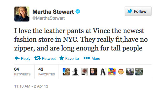 Martha Stewart Bought Leather Pants - Here's Why We're Not Surprised