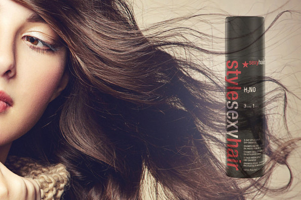 Current Obsession: Style Sexy Hair H2NO 3-Day Style Saver