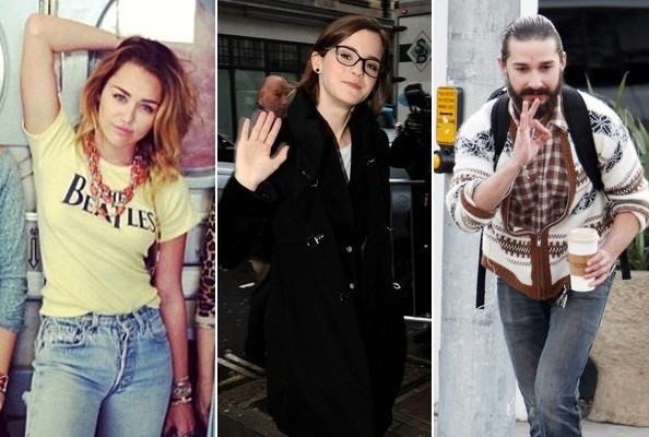 Our Favorite Famous Hipsters