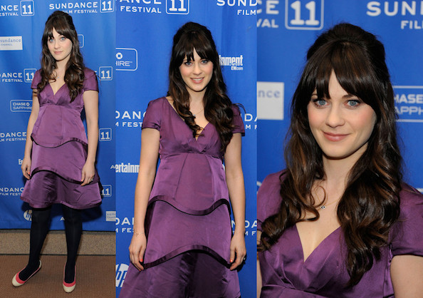 Hot or Not: Zooey Deschanel in Marc Jacobs
