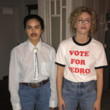 Lili Reinhardt and Camila Mendes as Napoleon and Pedro