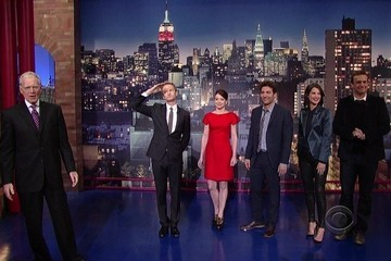 Cobie Smulders and Alyson Hannigan Swap Styles for 'The Letterman Show'