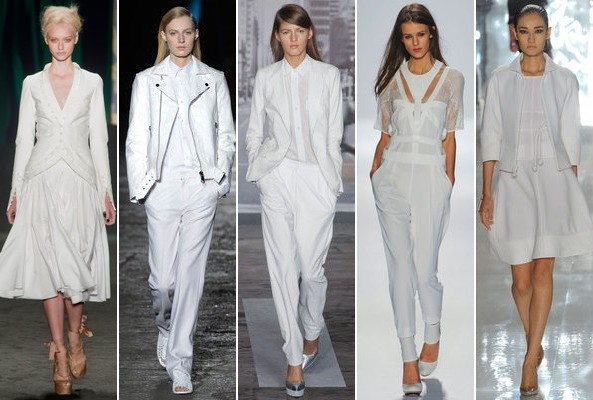Spring 2013 Runway Trend: White on White