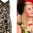 A Gold Paillette-Covered Party Dress Like AnnaSophia Robb's on 'The Carrie Diaries'