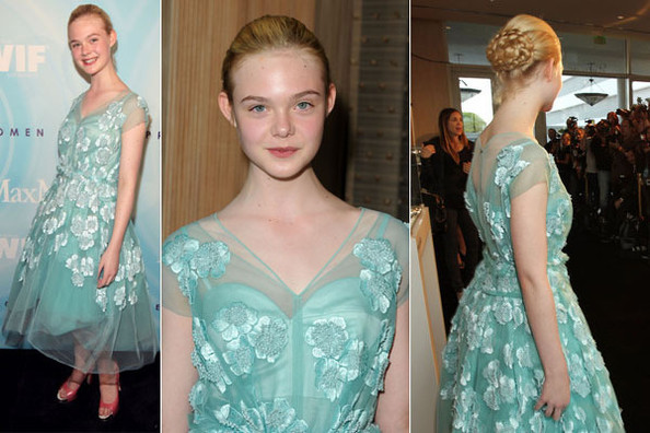 Look of the Day: Elle Fanning in Marc Jacobs