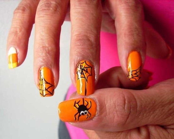 DIY Halloween Nail Art: 10 Spooky & Fun Nail Ideas to Try ...