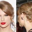 Taylor Swift's Braids and Bun