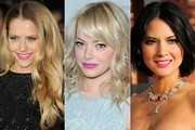 Spring Fever - Celebs Pucker up with Pink Lipstick