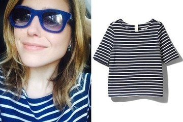 Daily Deal: Three Dots Striped Blouse