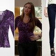 Sofia Vergara's Leopard Print Top on 'Modern Family'
