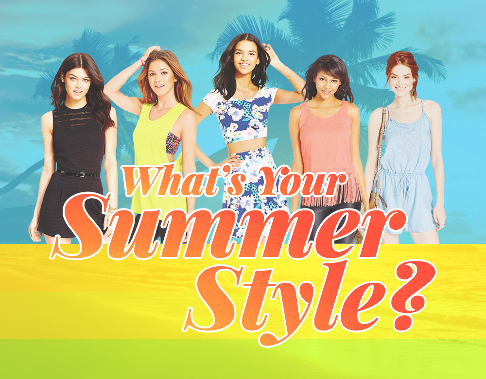 What 39 S Your Summer Style Quiz Stylebistro