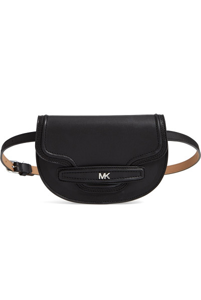 Michael Michael Kors: Bombe Leather Belt Bag