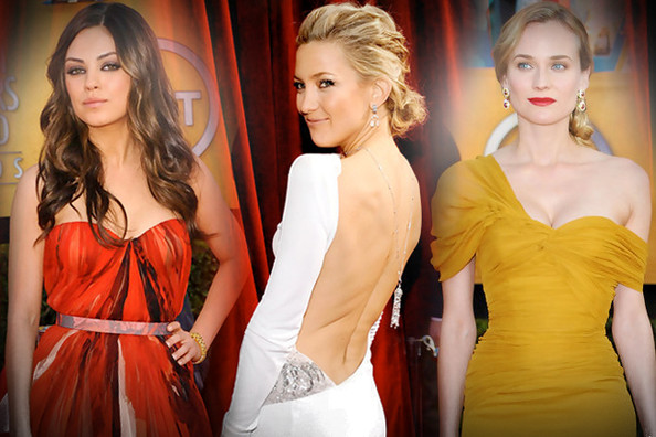 The Most Beautiful SAG Gowns