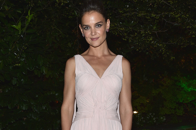 Katie Holmes at the Giver Premiere