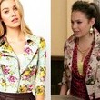A Floral Motorcycle Jacket Like Chloe Bridges' on 'The Carrie Diaries'